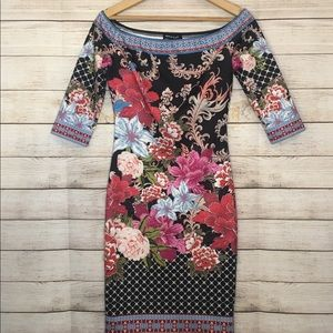 Jealous Tomato floral fitted dress 😍